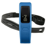 Bratara Fitness GARMIN Vivofit + Centura Ritm Cardiac, Blue