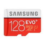 Card de memorie microSDXC 128GB SAMSUNG EVO+, Clasa 10 UHS-I