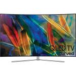 Televizor curbat QLED Smart Ultra HD 4K, 138cm, SAMSUNG QE55Q7CAM