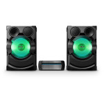 Minisistem audio SONY SHAKE-X7, 2400W, USB, Bluetooth, NFC, CD, DJ Effects, Mega BASS