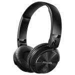 Casti on-ear Bluetooth PHILIPS SHB3060BK/00, Negru