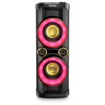 Sistem audio PHILIPS NTX400/12, 1000W, USB, Bluetooth, Iluminare LED, NX Bass