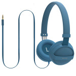 Casti on-ear PROMATE Sonic, Blue