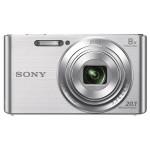 Camera foto digitala SONY DSC-W830, 20.1 Mp, 8x, argintiu