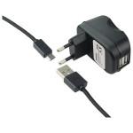 Incarcator retea universal PROMATE Surge-EU2, 2100mAh + cablu microUSB
