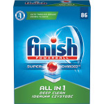 Tablete FINISH All in One, 86 bucati
