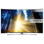 Televizor curbat LED Smart Ultra HD, 163cm, SAMSUNG UE65KS9502