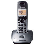 Telefon DECT PANASONIC KX-TG2511FXM, digital, 50 memorii, 300m, speaker, gri