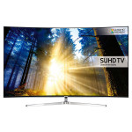 Televizor curbat LED Smart Ultra HD, 140cm, SAMSUNG UE55KS9002T