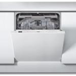 Masina de spalat vase incorporabila WHIRLPOOL WIC 3C23 PEF, 14 seturi, 8 programe, 60 cm, A++