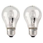 Set 2 becuri halogen XAVAX Energy Saver 112114, 70W, E27, 3000K, alb cald