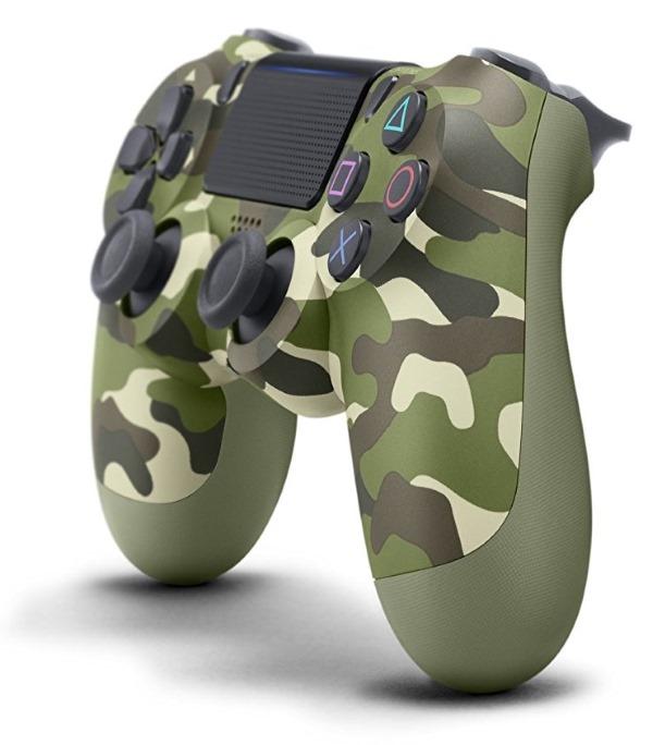 DualShock 4 V2 Green Camo