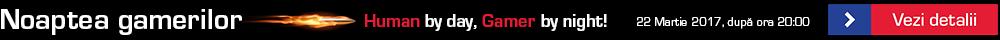 Campanie Noaptea gamerilor reveal