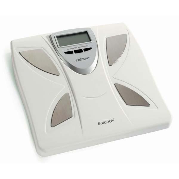 Cantar de persoane ZELMER Balance 34Z011, electronic, 150kg, alb