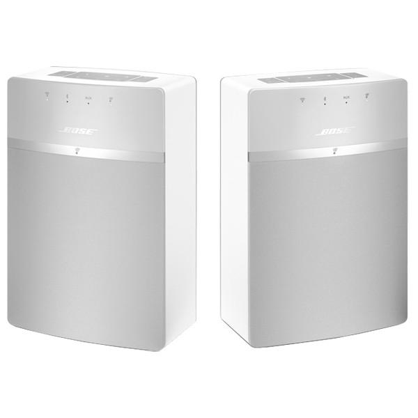 Set doua boxe Wi-Fi BOSE SoundTouch 10, alb