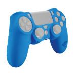 Protectie din cauciuc pentru controller PS4, albastru
