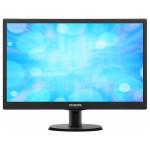 """Monitor LED PHILIPS 193V5LSB2/10, 18.5"""", HD, negru"""
