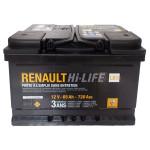 Baterie auto RENAULT 7711130089, 65Ah, 720A, 12V