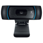Camera Web LOGITECH B910 HD, 1280 x 720 pixeli, negru