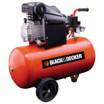 Compresor BLACK & DECKER BD 205/50, cu ulei, 50 litri, 2 CP, 8 Bar