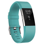 Bratara Fitness FITBIT Charge 2 Teal Silver, Large