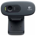 Camera Web LOGITECH C270, 1280 x 720 pixeli, negru
