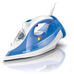 Fier de calcat PHILIPS Azur Performer GC3810/20, SteamGlide Plus, 2400W, alb - albastru