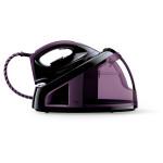 Statie de calcat PHILIPS FastCare GC7715/80, talpa SteamGlide ceramic, 2.2l, 120g/min, 2400W, violet