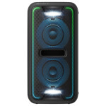 Sistem audio SONY GTK-XB7B Party Music, Extra Bass, USB, Bluetooth, NFC, iluminare LED, negru