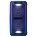 Sistem audio SONY GTK-XB7L Party Music, Extra Bass, USB, Bluetooth, NFC, iluminare LED, albastru