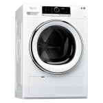 Uscator de rufe WHIRLPOOL Supreme Dryer HSCX 90420, 9kg, A++, alb