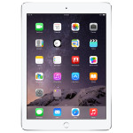"""Apple iPad Air 2 128GB Wi-Fi Ecran Retina 9.7"""", A8X, Silver"""
