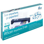 Scanner IRIS IRIScan™ Anywhere 3 Wi-Fi, A4, negru