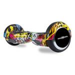 Scooter electric FREEWHEEL F1, graffiti galben
