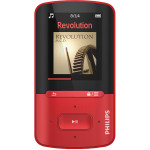 MP4 Player PHILIPS ViBE GoGEAR SA4VBE04RF/12, 4GB, USB, rosu