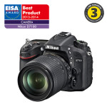 Camera foto digitala NIKON D7100 Body, 24.1 Mp, 3.2 inch, negru