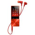 MP4 player Hi-Res SONY Walkman NW-A25HNR, 16GB, Noise-canceling, Cinnabar Red