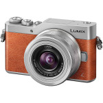 Camera foto mirrorless PANASIONIC DCM-GX800, 16Mp, 3 inch + obiectiv 12-32mm, brown