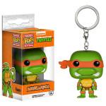 Breloc Pocket Pop! - TMNT Michelangelo