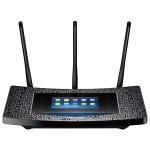 Wireless Range Extender TP-LINK RE590T AC1900, 600 + 1300 Mbps, Ecran capacitiv, negru