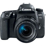 Camera foto DSLR CANON EOS 77D, 24.2MP, Wi-Fi, negru + Obiectiv EF-S 18-55mm f/3.5-5.6 IS STM