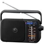 Radio portabil PANASONIC RF-2400DEG-K, FM/AM, negru