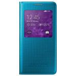 Husa S-View Cover pentru Samsung Galaxy Alpha SAMSUNG EF-CG850BLEGWW, Blue