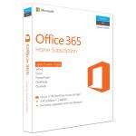 Microsoft Office 365 Home, 32/64 bit, Engleza EuroZone, Subscriptie 1 an, 5 PC/Mac, 5 Tablete, 5 Telefoane