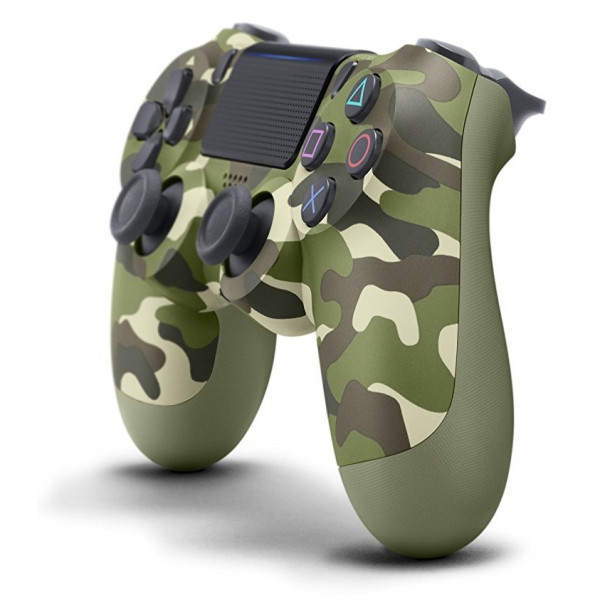 Controller wireless DUALSHOCK 4 V2 SONY PS4, green camo