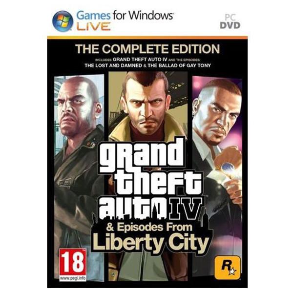 Grand Theft Auto IV (GTA 4) The Complete Edition PC