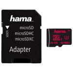 Card de memorie microSDHC 32GB Clasa 3 UHS-I 80MB/S + adaptor, HAMA 123978