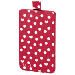 Husa Sleeve ELLE Hearts & Dots 135532, Size XXL, Red