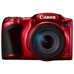 Camera foto digitala CANON PowerShot SX420 IS, 20Mp, 42x, 3 inch, Red