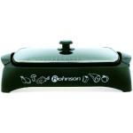 Gratar ROHNSON R250, tava antiadeziva legume, 2000W, negru